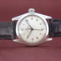 Rolex Steel 30mm White