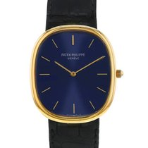 Patek Philippe Golden Ellipse Or jaune 31mm Bleu Sans chiffres France, Paris