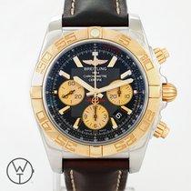 Breitling Chronomat 44 Acero y oro 44mm Negro Sin cifras