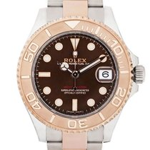 Rolex Yacht-Master 37 occasion 37mm Brun Date Or/Acier