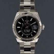 Rolex Sky-Dweller Acier 42mm Noir Sans chiffres