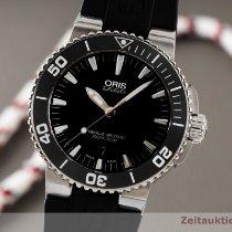 Oris Aquis Date Acier 43.5mm Noir