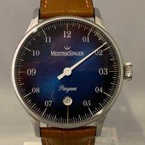Meistersinger Pangaea Steel 40mm Blue