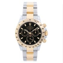Rolex Daytona Gold/Steel 40mm Black United States of America, Texas, Dallas