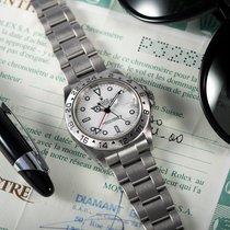 Rolex Explorer II Aço Branco