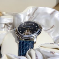 Frederique Constant Ladies Automatic Heart Beat Steel 34mm Blue Arabic numerals