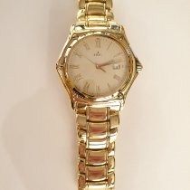 Ebel 1911 occasion 33,5mm Blanc Date Or jaune