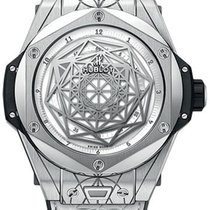 Hublot Big Bang Sang Bleu Titanium 45mm White