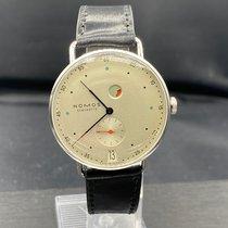 NOMOS Metro Datum Gangreserve new 2021 Manual winding Watch with original box and original papers 1101