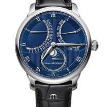 Maurice Lacroix Masterpiece neu 2020 Automatik Uhr mit Original-Box und Original-Papieren MP6608-SS001-410-1