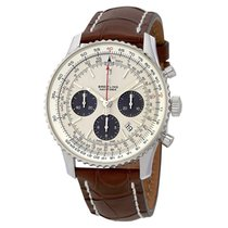 Breitling Navitimer 1 B01 Chronograph 43 new 2020 Automatic Chronograph Watch with original box and original papers AB0121211G1P1
