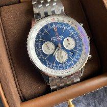 Breitling Navitimer 01 (46 MM) nouveau 2020 Remontage automatique Chronographe Montre avec coffret d'origine et papiers d'origine AB0127211C1A1