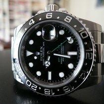 Rolex GMT-Master II Acier 40mm Noir Sans chiffres France, Montpellier