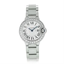 Cartier Ballon Bleu 28mm White gold 28mm Silver United States of America, New York, NY