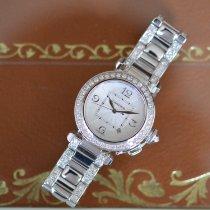 Cartier Pasha neu 2005 Automatik Uhr mit Original-Box und Original-Papieren WJ1116LK