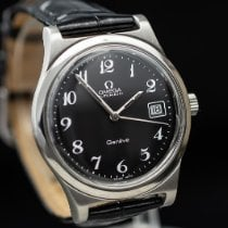 Omega Steel Automatic Black Arabic numerals 36mm pre-owned Genève