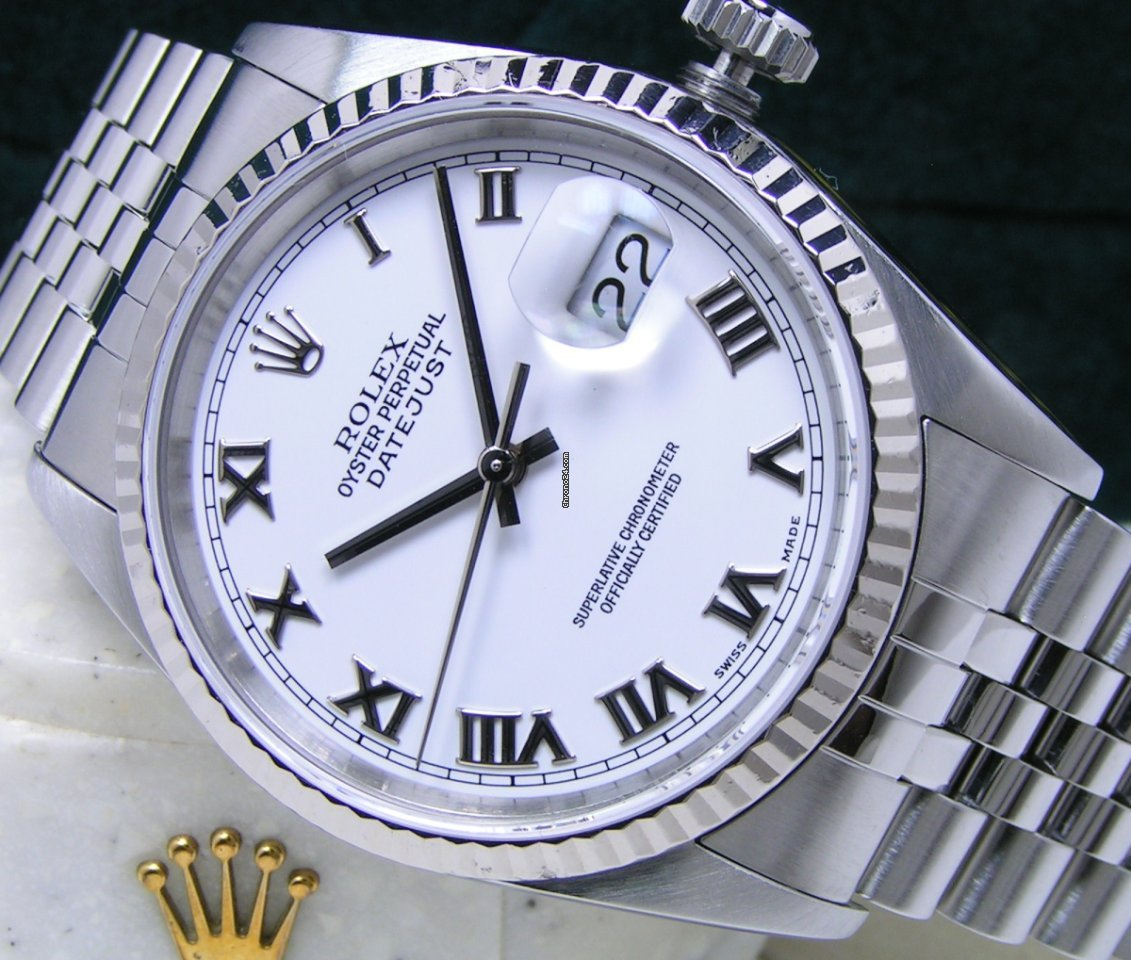 Rolex Datejust 16234 116234 2001 pre-owned