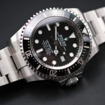 Rolex Sea-Dweller Deepsea Steel 44mm Black No numerals United Kingdom, Whitby- North Yorkshire