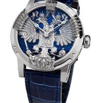 Louis Moinet LM-51.70.20.AI/26 New White gold 44mm Automatic