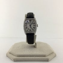Franck Muller Cintrée Curvex White gold 22mm White United States of America, Texas, Houston