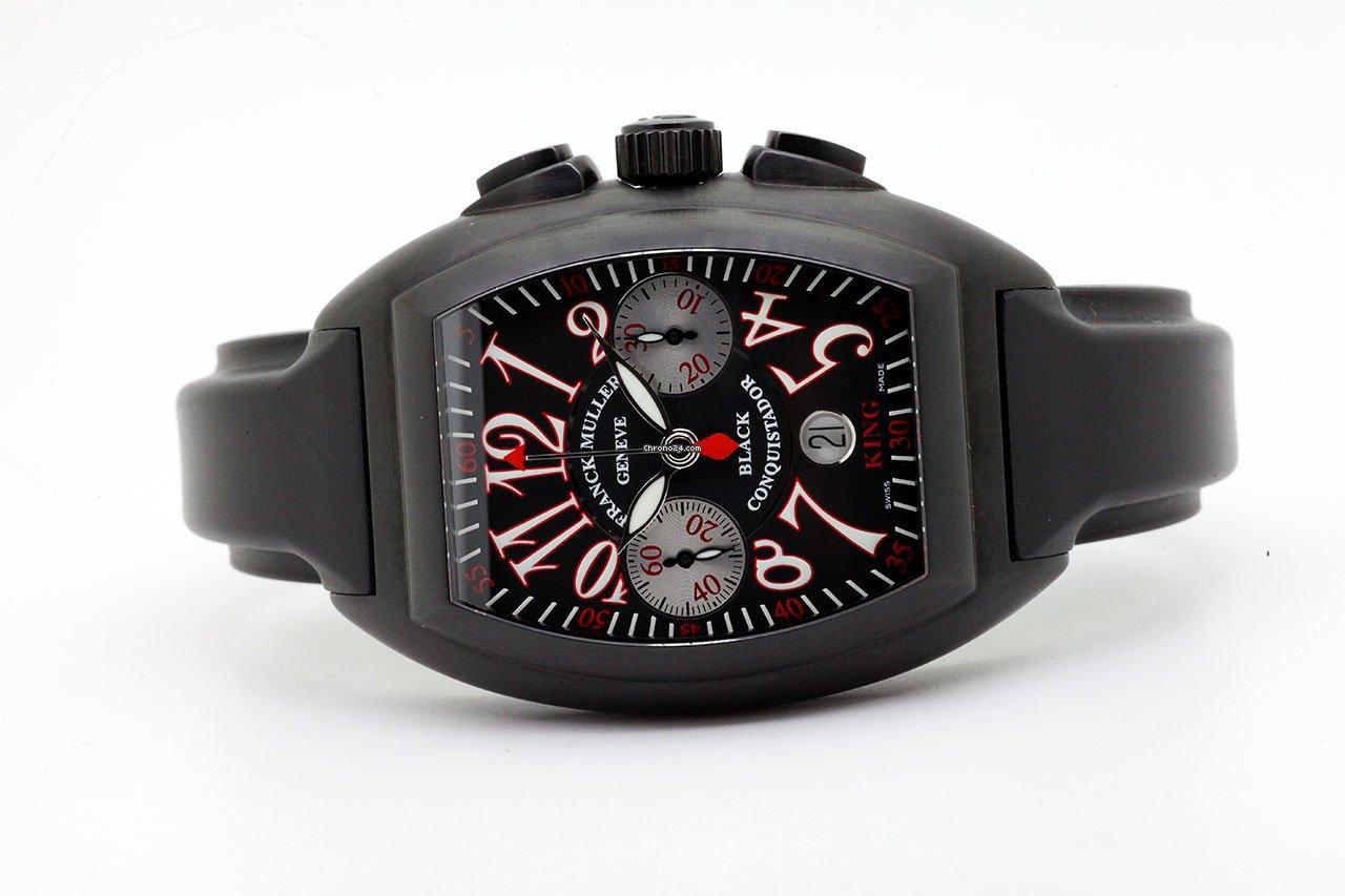 Franck Muller Conquistador 8005 K CC NR 2012 подержанные