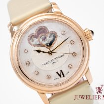 Frederique Constant Ladies Automatic Double Heart Beat pre-owned 34mm Mother of pearl