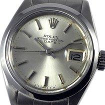 Rolex Acero Automático Plata Sin cifras 26mm usados Oyster Perpetual Lady Date
