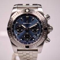 Breitling Chronomat neu 2018 Automatik Chronograph Uhr mit Original-Box und Original-Papieren AB0115101C1A1
