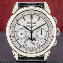 Patek Philippe Perpetual Calendar Chronograph White gold 41mm White United States of America, Massachusetts, Boston