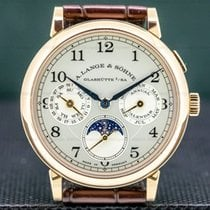 A. Lange & Söhne pre-owned Manual winding Silver Sapphire crystal