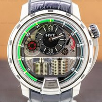 HYT pre-owned Manual winding Grey Sapphire crystal 10 ATM