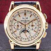 Patek Philippe Perpetual Calendar Chronograph Rose gold 40mm Silver United States of America, Massachusetts, Boston