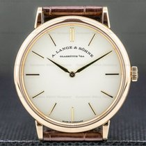 A. Lange & Söhne Saxonia Rose gold Silver United States of America, Massachusetts, Boston
