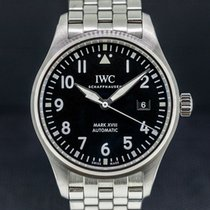 IWC Pilot Mark Steel 40mm Black Arabic numerals United States of America, Massachusetts, Boston
