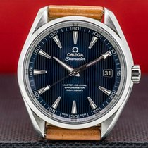 Omega Seamaster Aqua Terra Steel Blue United States of America, Massachusetts, Boston