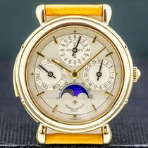 Vacheron Constantin Patrimony Yellow gold Silver United States of America, Massachusetts, Boston