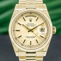 Rolex Day-Date 36 pre-owned 36mm Date Yellow gold