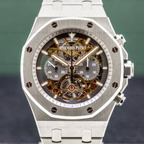 Audemars Piguet Titanium Manual winding 44mm pre-owned Royal Oak Tourbillon