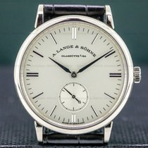 A. Lange & Söhne Saxonia White gold 35mm Silver United States of America, Massachusetts, Boston