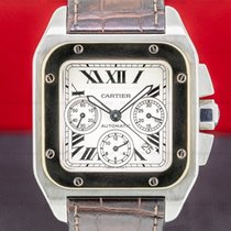 Cartier Santos 100 Steel 38mm United States of America, Massachusetts, Boston