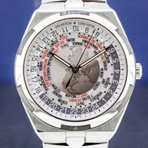 Vacheron Constantin Overseas World Time Steel Silver United States of America, Massachusetts, Boston