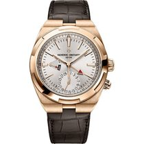 Vacheron Constantin Overseas Dual Time Rose gold 41mm Silver United States of America, New York, New York