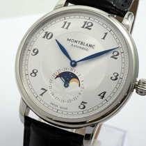 Montblanc pre-owned Automatic 42mm White Sapphire crystal 3 ATM