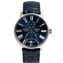 Ulysse Nardin Steel 42mm Automatic 1183-310 pre-owned