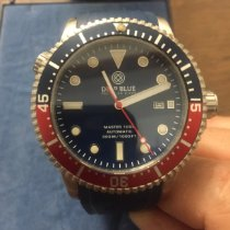 Deep Blue Steel 44mm Automatic 0421/5000 pre-owned