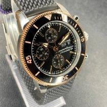 Breitling Superocean Heritage II Chronographe Acero y oro 44mm Negro