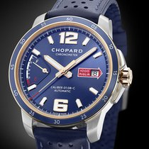 Chopard Mille Miglia Gold/Steel 43mm Blue