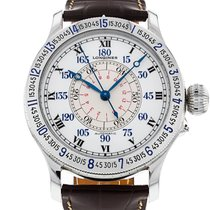 Longines Lindbergh Hour Angle Steel White Roman numerals United States of America, New York, New York