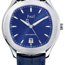 Piaget Polo S Acero 42mm Azul Sin cifras