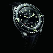 Blancpain Fifty Fathoms Titanium 45mm Black Arabic numerals